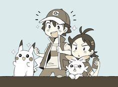 ぽけpic.twitter.com/lZ4LZjUnBk Pokemon Alola, Pokemon Comics, Cute Pokemon, Pikachu, Pokemon Ash Ketchum, Pokemon Universe, Normal Person, Cool Pictures, Trainers