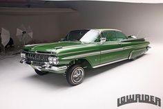 Green Mean Machine Chicano, Classic Trucks, Classic Cars, 1959 Chevy Impala, 1957 Chevrolet, Chevrolet Trucks, First Car, Bel Air, Cars