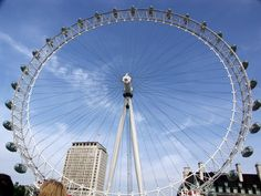 london eye - Alex and I rode this!