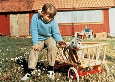 """""""Vi på Saltkråkan"""", swedish tv-program for children in the early sixties. Childhood Characters, Book Characters, Childhood Memories, Welcome To The 60s, My Memory, The Good Old Days, Good Movies, Children, Film"""