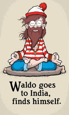 Waldo goes to India, finds himself