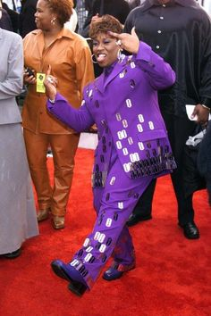 The most outrageous outfits in Grammys history: Missy Elliott, 2000 Black Celebrities, Famous Celebrities, Celebs, 2000s Fashion, Hip Hop Fashion, Women's Fashion, Missy Elliott Lyrics, Celebrity Outfits, Celebrity Style
