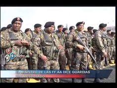 El ministro de las FF.AA dice guardias dan resultado #Video - Cachicha.com