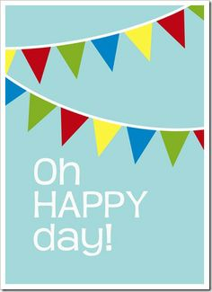 Just Because 28 - Oh HAPPY day! - Bold - Sprik Space