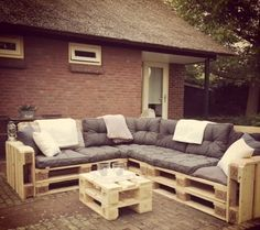 Finde moderner Garten Designs von Meubelen van pallets. Entdecke die schönsten Bilder zur Inspiration für die Gestaltung deines Traumhauses.