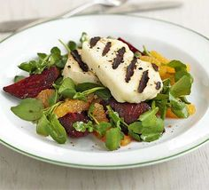 This simple salad is refreshing and light. It's great with mackerel too