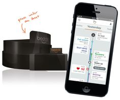 Beddit is a new kind of device and app for tracking & improving sleep and wellness