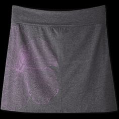 Women's Hibiscus Foldover Skirt