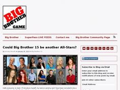Big Brother 15 All-Stars?