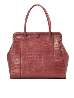 Love this Nancy Gonzalez crocodile bag!