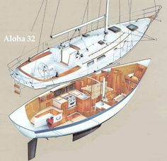 exploded view, Aloha 32