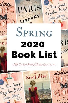 Don't miss these popular Spring 2020 books to read. Find the hottest new book releases from March to June Best Books To Read, Good Books, My Books, Book Club Books, Book Lists, Indie Books, Indie Movies, Comedy Movies, Philosophy Books