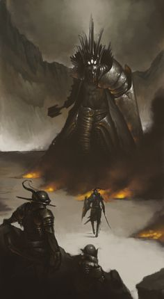 Fingolfin versus Morgoth
