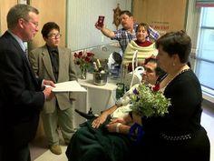 Man stricken with ALS marries longtime girlfriend in hospital ceremony - 10News.com KGTV ABC10 San Diego