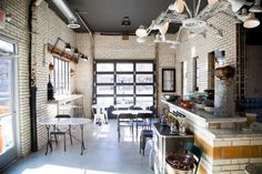 Inside Olio, St. Louis one of my favorite restaurant interiors ever!