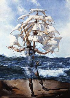 Salvador Dali / The Ship