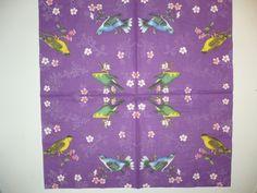 Птицы на фиолетовом