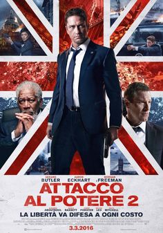Attacco al potere 2, scheda del film con Gerard Butler, Aaron Eckhart e Morgan Freeman, leggi la trama e la recensione, guarda il trailer, trova il cinema.