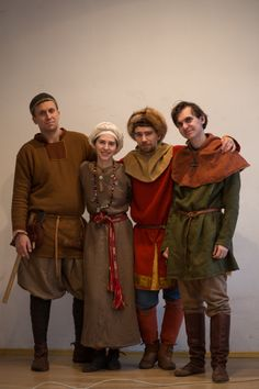 "Our viking club; dress has been made by ""Skupaya Khel'"". Vikind dress, viking style."