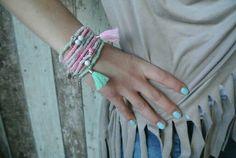 Leuke nieuwe armbandjes gemaakt vandaag ♥ www.debs-store.com