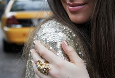 silvery sequins. sparkle ~ outfit ~ bright & beautiful.