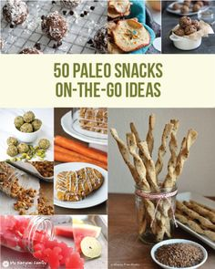 50 Paleo Snacks on the go Ideas