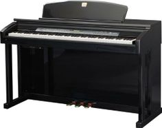 Williams Symphony Elite Digital Piano (Standard) 88 full-size graded hammer-action weighted keys w/adjustable touch response. Reverb and Chorus effects. Harmony mode transforms one-note melodies into fully orchestrated pieces3-track, 4 songs recorder. Built-in amplified speaker.  #Williams #Musical_Instruments