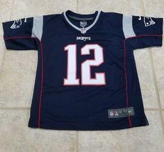 NFL New England Patriots Tom Brady Team Jersey Nike Youth Size Large 14 16   ff98c0cd3
