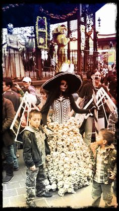 We have a walking tour in Mexico City and is about Dia de Muertos altars and Catrinas. I hope you can join us!