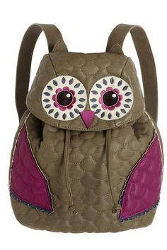 Owl Bag.  Looks like my backpack purses