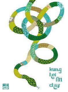 Art by Chris Chun. Happy Chinese New Year!