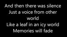 And Then There Was Silence (Blind Guardian) - Lyrics