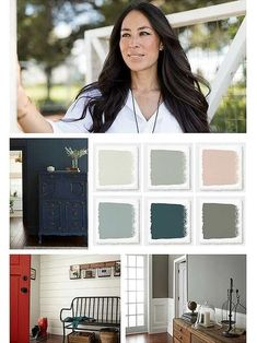 Joanna Gaines says these will be the most popular colors in 2018 . - Joanna Gaines says these will be the most popular colors in 2018 Best Picture For colorful interio - Paint Colors For Living Room, Paint Colors For Home, House Colors, Wall Paint Colors, Joanna Gaines, Home Design, Interior Design, Interior Ideas, Magnolia Homes Paint