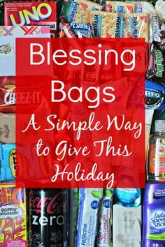 Give Blessings Bags