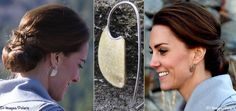When Kate and William were in Carcross, Yukon, the Duchess wore the Large Bronze Ulu earrings by local artisan Shelley MacDonald.