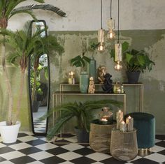 Inspiring lighting, furniture, home accessories and interior decorations Wire Side Table, Side Tables, Gold Color Combination, Shabby Chic Design, Or Noir, Visual Texture, Interior Decorating, Interior Design, Yurt Interior
