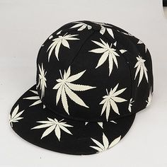 a9deee7771886 Gorra Marihuana brilla en la oscuridad. Gorras Snapback