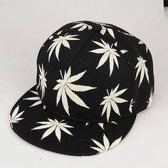 Gorra Marihuana brilla en la oscuridad 0f87282464d