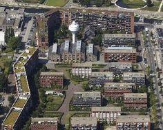 Project: GWL-terrein, Amsterdam stichting Ecoplan, Amsterdam Haarlemmerweg ter hoogte van de Westergasfabriek, Amsterdam-Westerpark 1993 stedenbouwkundig plan, KCAP Architects&Planners  landschapsarchitect, West8