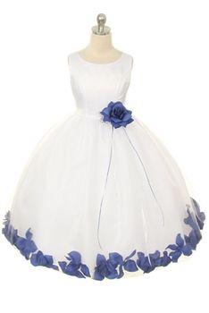 Fav. Purple flower girl dress