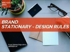 Branding through Business Stationary - 30th Feb