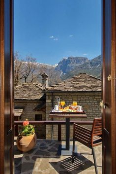 Aristi Mountain Resort and Villas - Zagori, Greece Spa Interior, Through The Window, Mountain Resort, Greece Travel, Hotels And Resorts, The Places Youll Go, Planet Earth, The Good Place, Around The Worlds