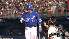 Yoshitomo Tsutsugoh (Yokohama DeNA BayStars) and Shinnosuke Abe (Yomiuri Giants)