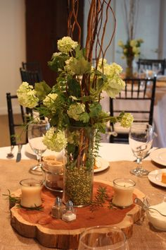 rehearsal dinner centerpieces for tables | ... Gum Bottom Bed and Breakfast: Catering for an Alabama Rehearsal Dinner