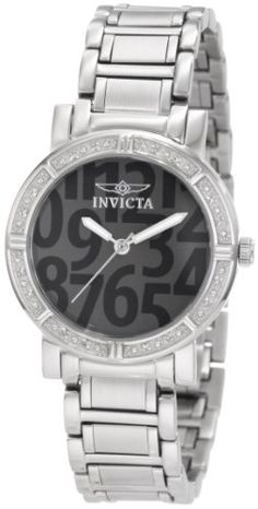 Invicta Womens 10676 Wildflower Collection Diamond Accented Watch ** You can get additional details at the image link.