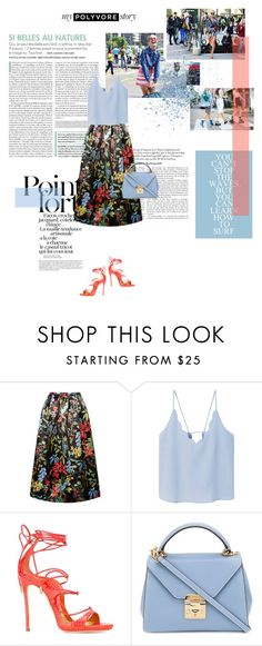 """""""#216: outfit of the day"""" by yourlittlebitch ❤ liked on Polyvore featuring Karl Lagerfeld, J.A.K., Rochas, MANGO, Dsquared2 and Mark Cross"""
