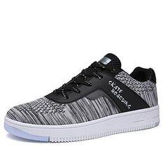 Comprar Ofertas de KuBua Hombre Zapatillas para Skateboard Zapatos de Skate e1818b4c186