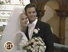 Jon Hensley Kelley & Menighan Hensley (Holden, ATWT) & Emily, (ATWT) met on set and wed in May 1996.