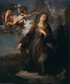 Anthony van Dyck, St Rosalie in Glory, 1624, Oil on canvas, Menil Collection - Anthony van Dyck - Wikimedia Commons