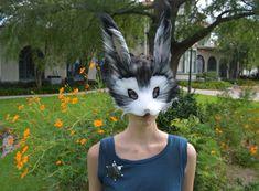 Máscara de piel imitación de Judy Hopps, modelado después de Zooptopia
